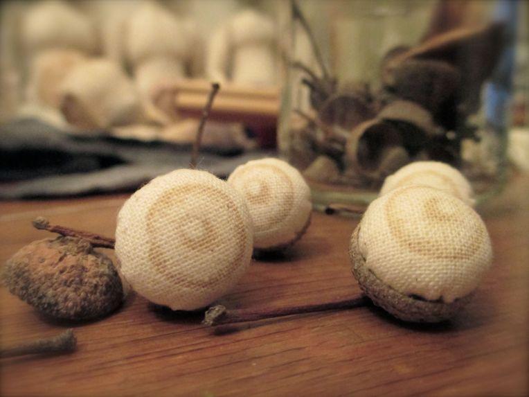 Acorn eye balls