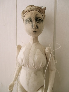 The Pale Rook - Rosehip art doll