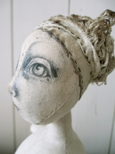 The Pale Rook - Art doll