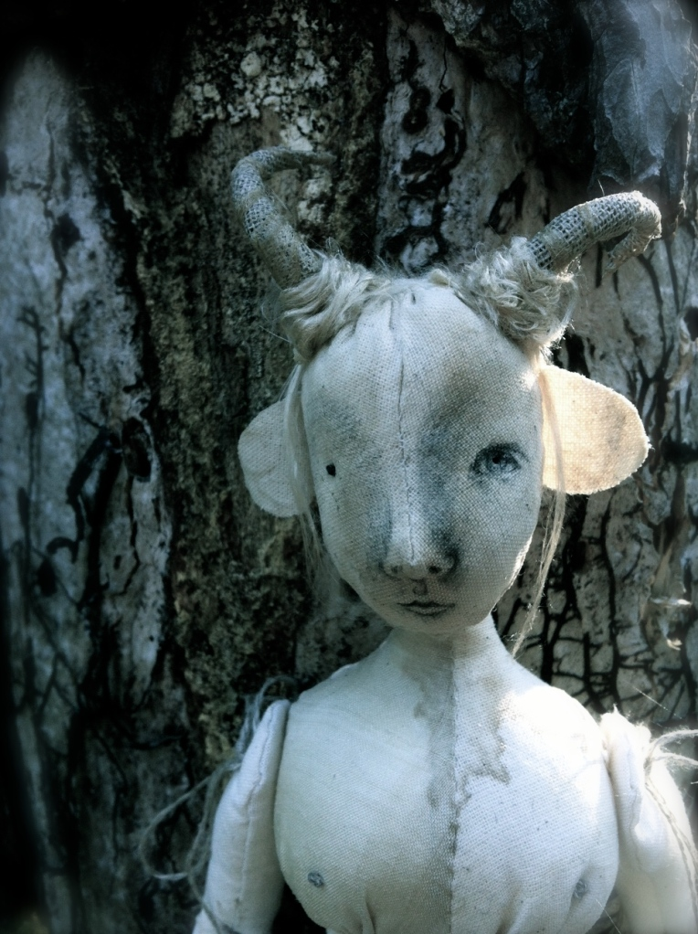 The Pale Rook - Faun doll